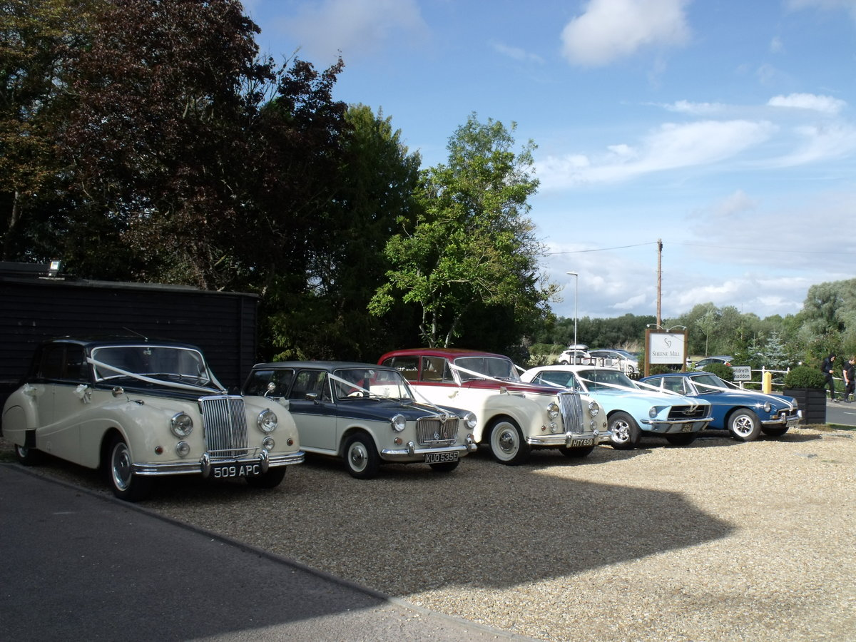 1955 Classic Wedding Cars  For Hire (picture 5 of 6)