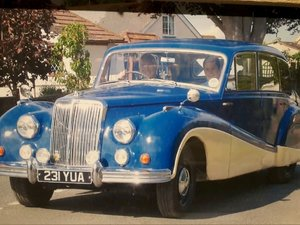 1954 Armstrong Siddeley donor vehicle