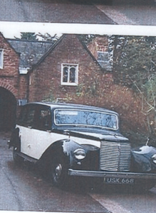 1947 Armstrong Siddeley Limousine Historic Project