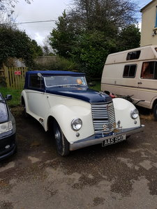 1950 Armstrong Siddeley Hurricane PROJECT