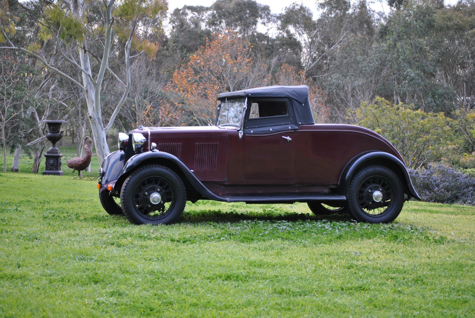 1934 ARMSTRONG SIDDELEY 12HP TOURER For Sale by Auction (picture 2 of 6)