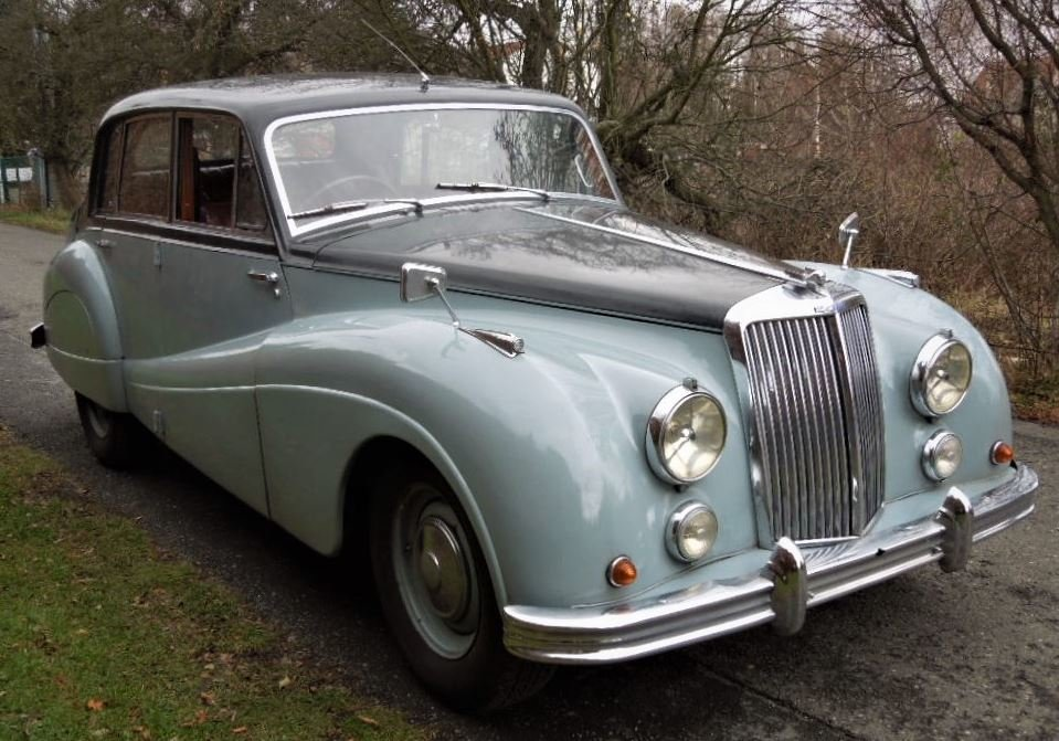 1954 Armstrong Siddeley Sapphire 346 For Sale (picture 2 of 6)