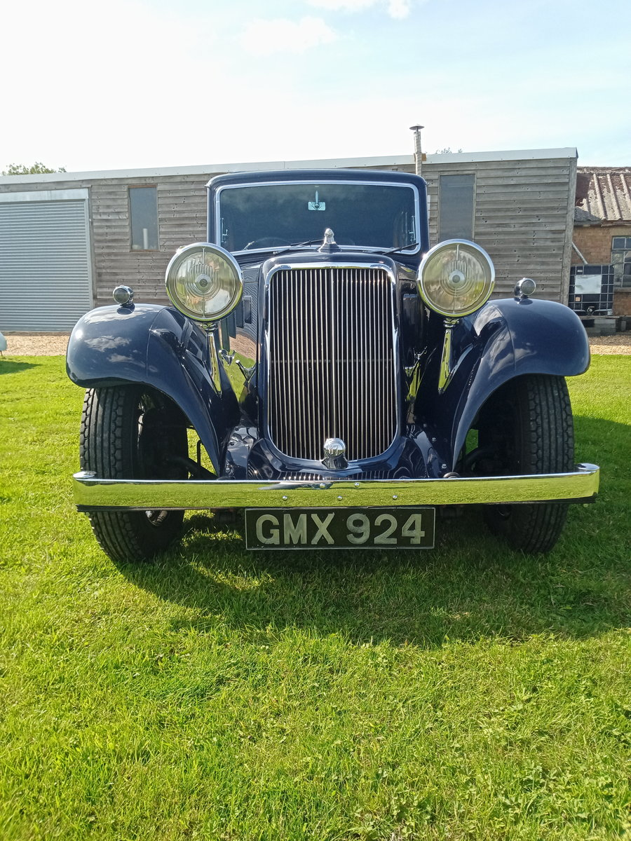 1936 Armstrong Siddeley 17hp short saloon SOLD (picture 2 of 6)