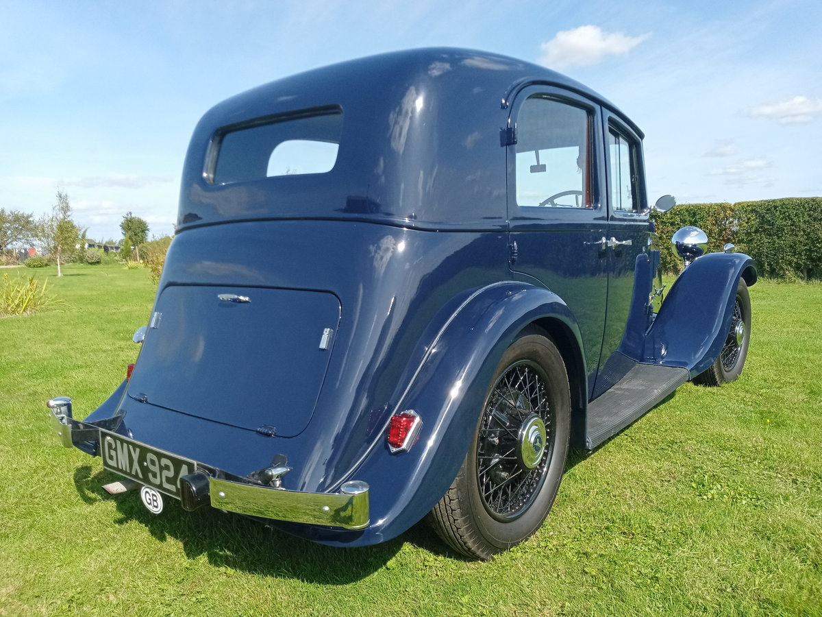 1936 Armstrong Siddeley 17hp short saloon SOLD (picture 3 of 6)