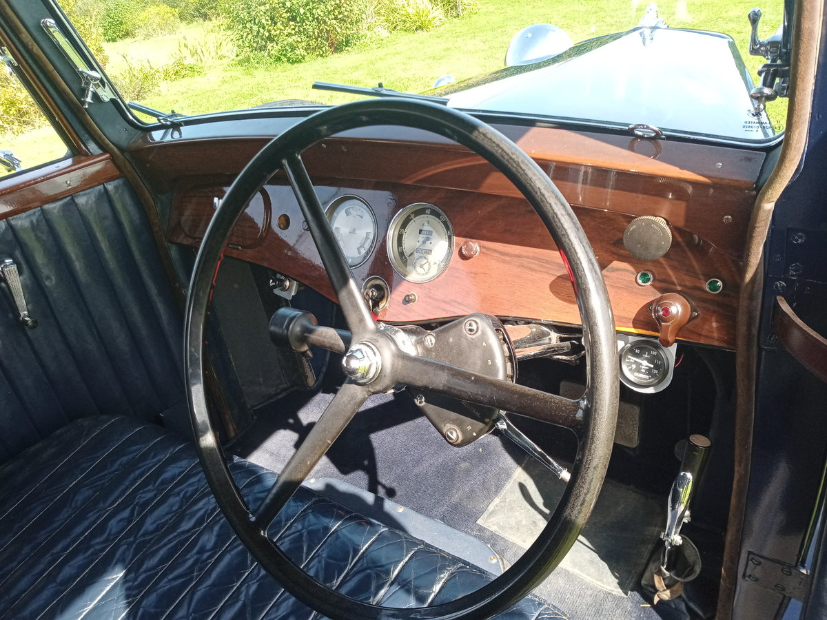 1936 Armstrong Siddeley 17hp short saloon SOLD (picture 5 of 6)