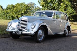 Armstrong Siddeley Whitley 1952 - To be auctioned 30-10-20
