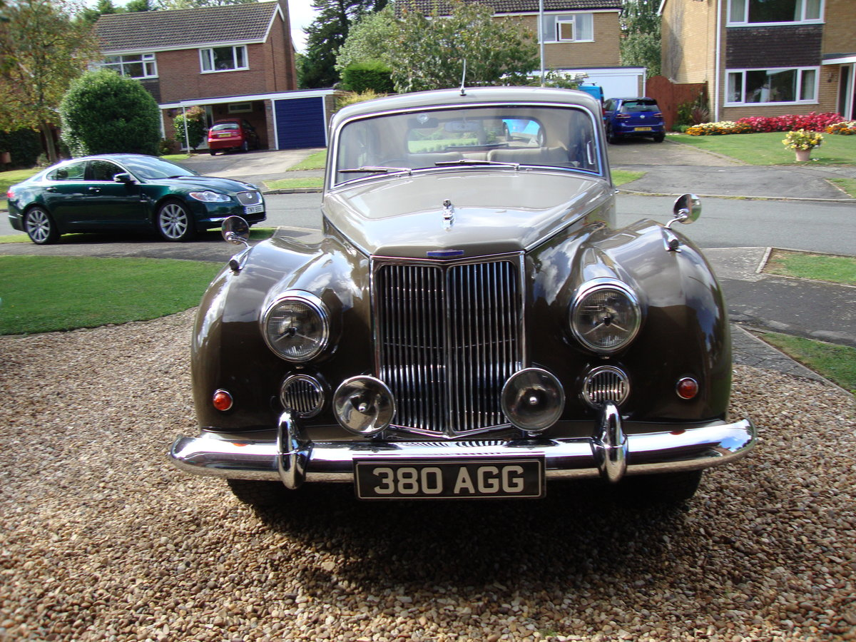 1960 Exceptional Armstrong Siddeley Star Sapphire For Sale (picture 2 of 6)