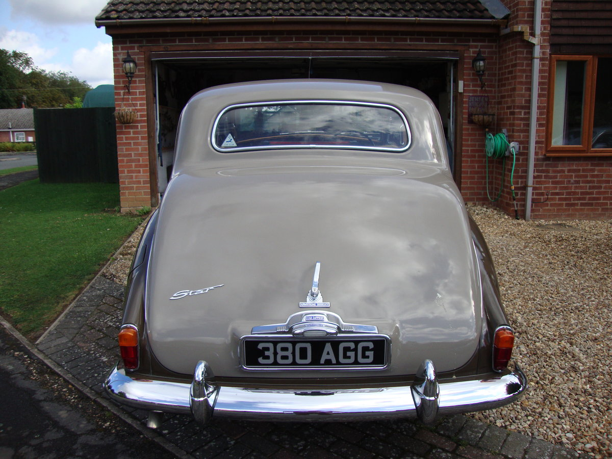 1960 Exceptional Armstrong Siddeley Star Sapphire For Sale (picture 4 of 6)