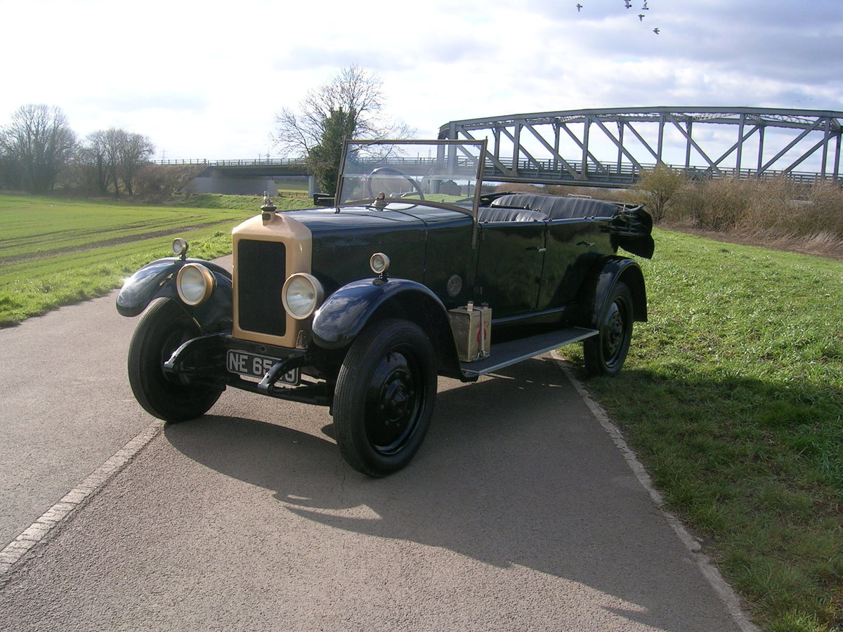 1926 Armstrong Siddeley 14 HP Cotswold Open Top Tourer For Sale (picture 1 of 6)