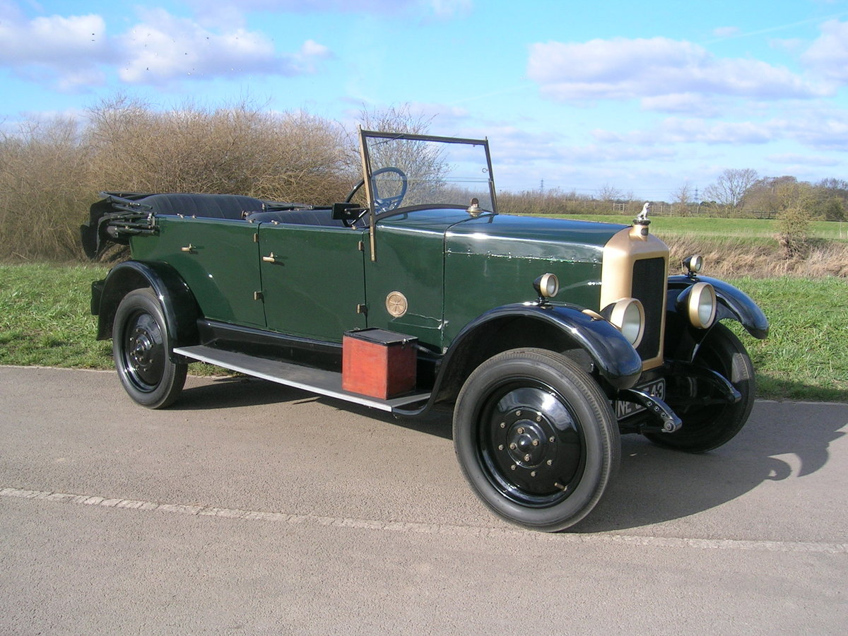 1926 Armstrong Siddeley 14 HP Cotswold Open Top Tourer For Sale (picture 2 of 6)