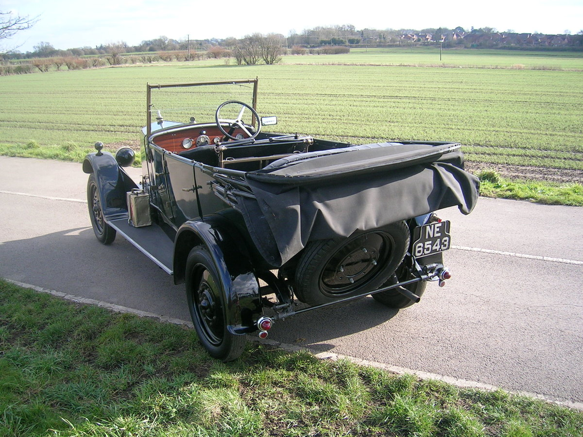 1926 Armstrong Siddeley 14 HP Cotswold Open Top Tourer For Sale (picture 3 of 6)