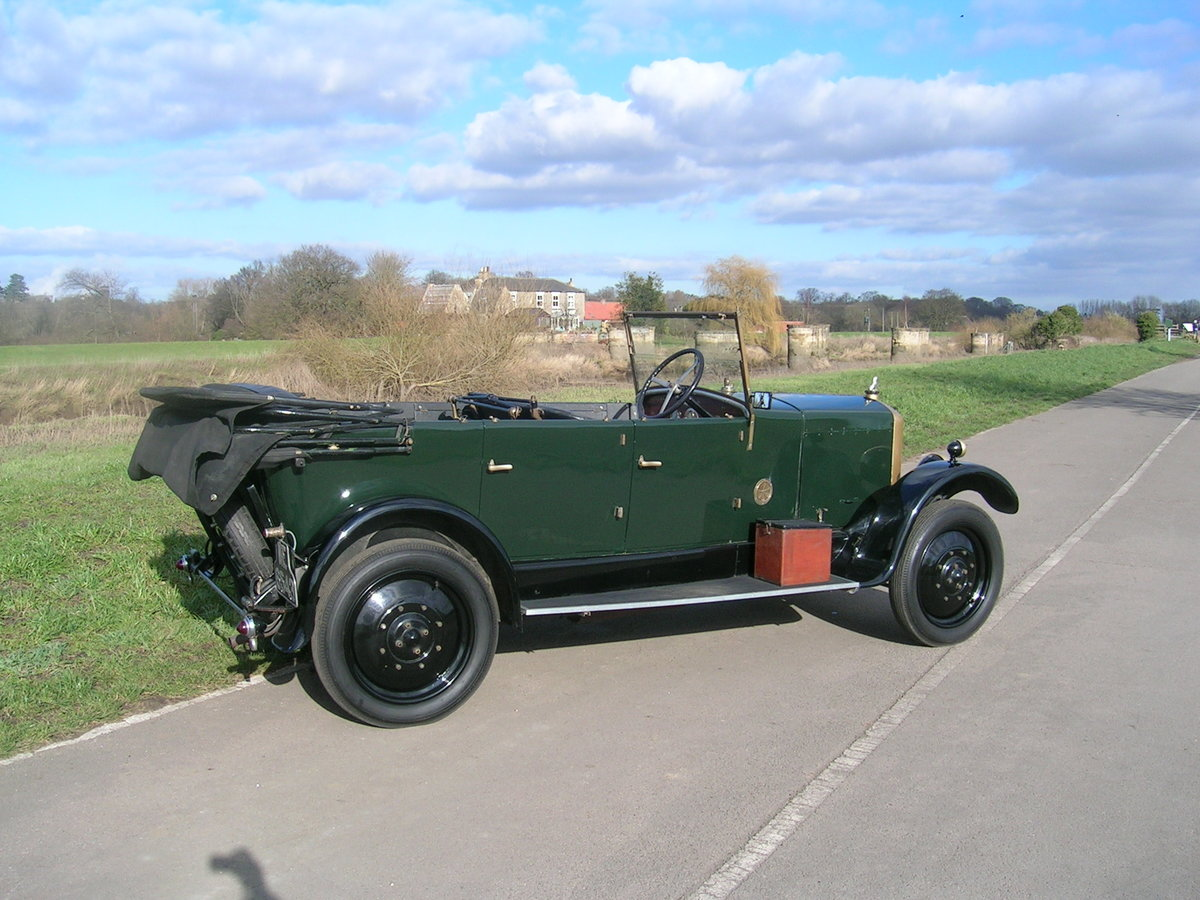 1926 Armstrong Siddeley 14 HP Cotswold Open Top Tourer For Sale (picture 4 of 6)