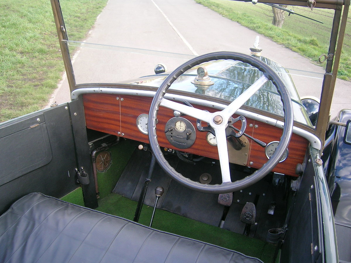 1926 Armstrong Siddeley 14 HP Cotswold Open Top Tourer For Sale (picture 5 of 6)