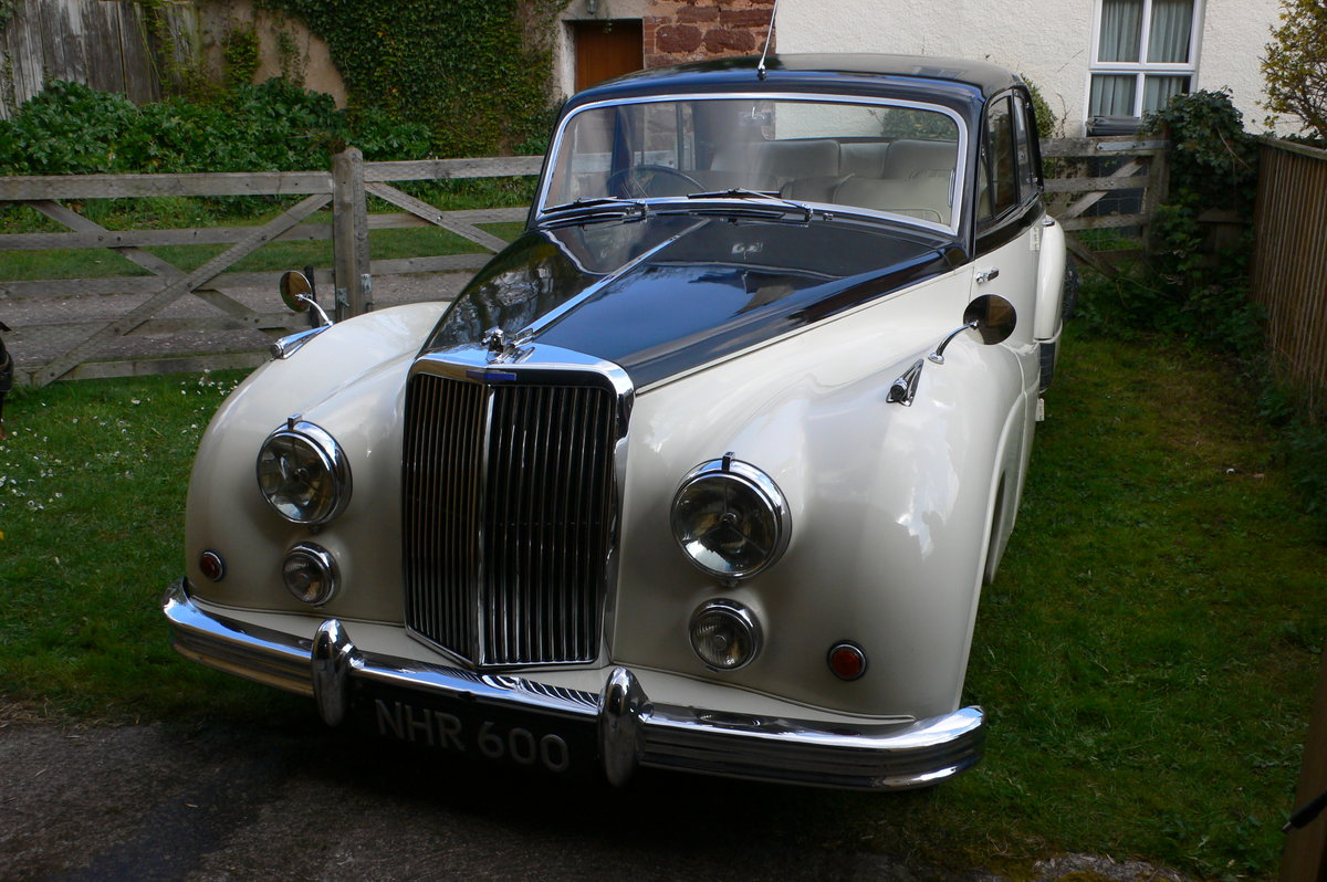 1955 Armstrong-Siddeley Sapphire 346 Automatic For Sale by Auction (picture 1 of 12)