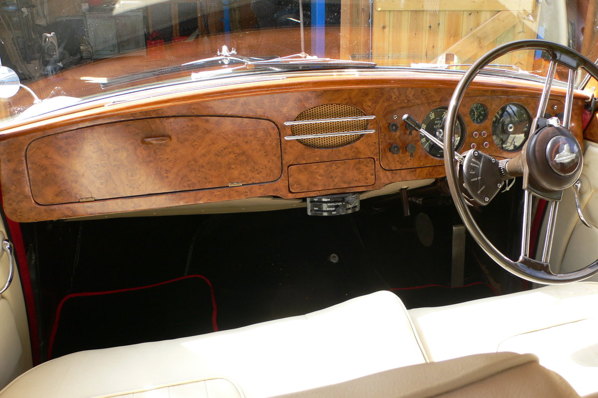 1955 Armstrong-Siddeley Sapphire 346 Automatic For Sale by Auction (picture 9 of 12)