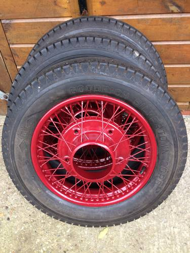 Land Rover Southampton >> 1929 Armstrong Siddeley Vintage Wheel Restoration - Tudor Wheels | Car And Classic
