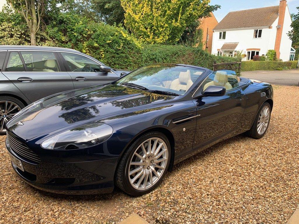 Aston Martin DB9 Volante, 41k miles