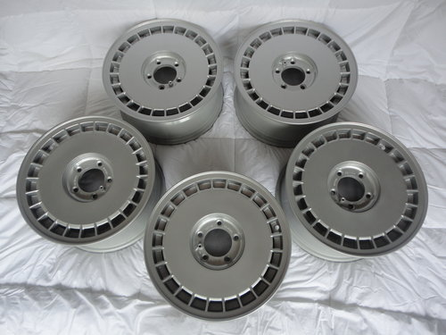 Aston Martin Lagonda wheels brand new/old stock x5 SOLD (picture 1 of 4)