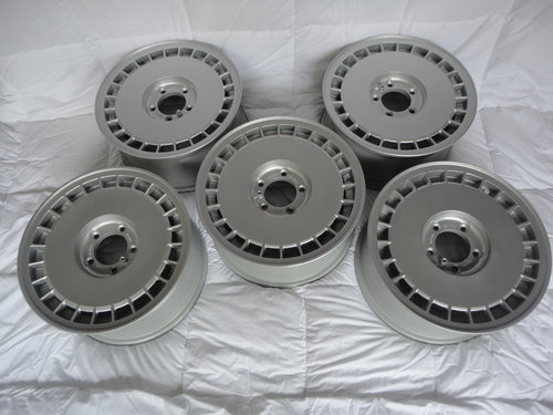 Aston Martin Lagonda wheels brand new/old stock x5 SOLD (picture 2 of 4)
