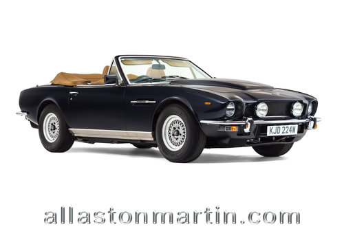 1981 Beautifully presented Aston Martin V8 Volante Series I  For Sale (picture 1 of 6)