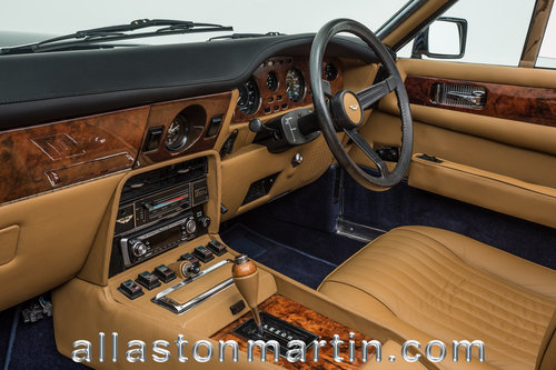1981 Beautifully presented Aston Martin V8 Volante Series I  For Sale (picture 4 of 6)