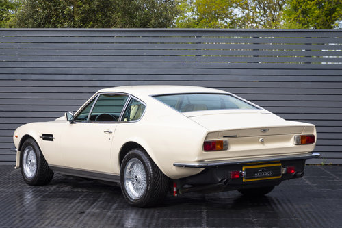 1984 Aston Martin V8 Vantage LHD ONLY 8600 MILES MANUAL (ZF) For Sale (picture 2 of 6)