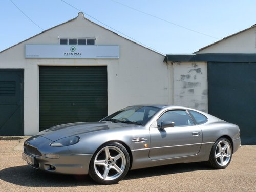 1995 Aston Martin DB7 i6, manual gearbox SOLD (picture 1 of 6)