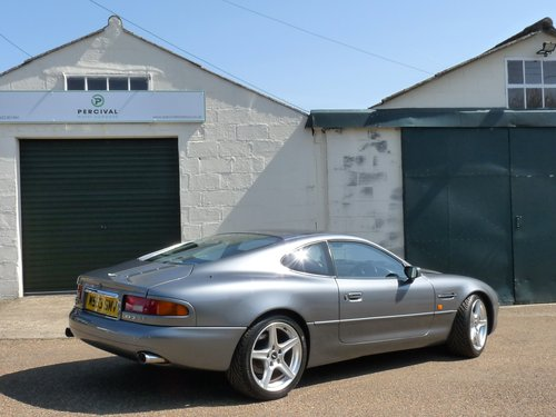 1995 Aston Martin DB7 i6, manual gearbox SOLD (picture 2 of 6)