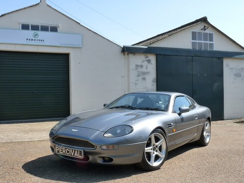 1995 Aston Martin DB7 i6, manual gearbox SOLD (picture 5 of 6)