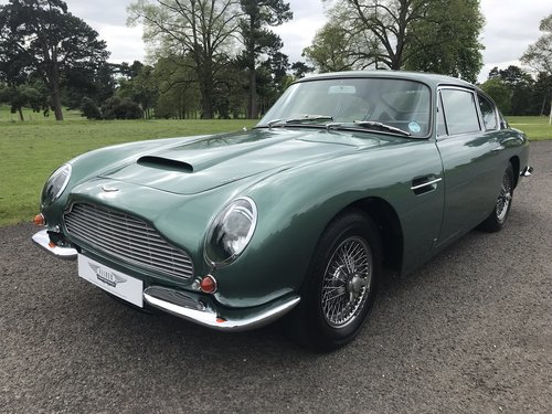 Aston Martin DB6 Mk1 1968 manual Fully Restored For Sale (picture 1 of 6)