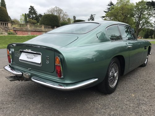 Aston Martin DB6 Mk1 1968 manual Fully Restored For Sale (picture 5 of 6)