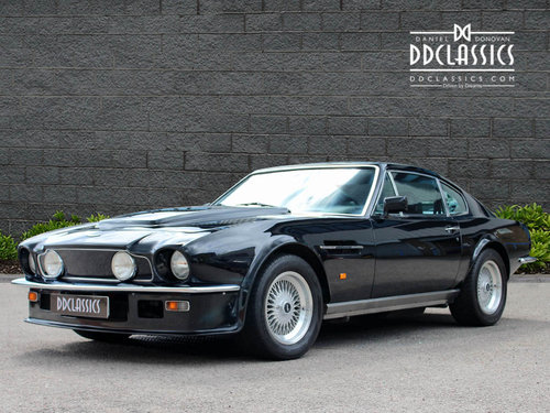 1988 Aston Martin V8 Vantage X Pack Coupe (RHD)  For Sale (picture 1 of 6)