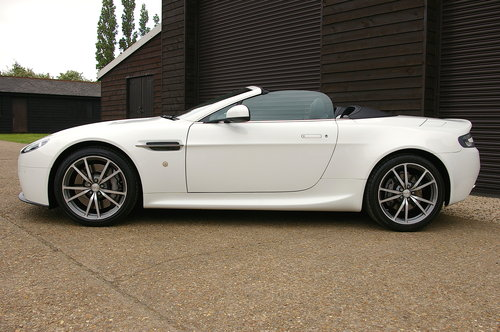 2014 Aston Martin Vantage 4.7 V8 Roadster Auto (29,234miles) SOLD (picture 1 of 6)