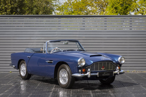 1963 Aston Martin DB4 Series V (SS) Vantage Convertible SOLD (picture 1 of 6)