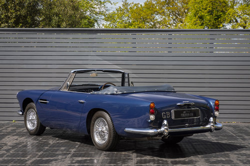 1963 Aston Martin DB4 Series V (SS) Vantage Convertible SOLD (picture 2 of 6)