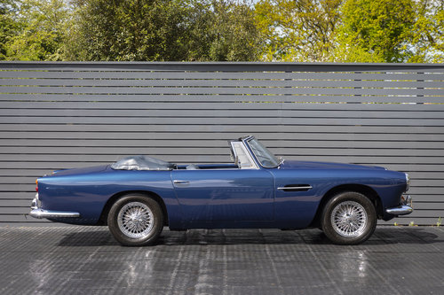 1963 Aston Martin DB4 Series V (SS) Vantage Convertible SOLD (picture 6 of 6)