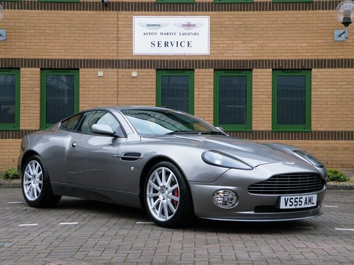 2005 Vanquish S. 28,000 Miles. Full Aston Martin Service History For Sale (picture 1 of 6)