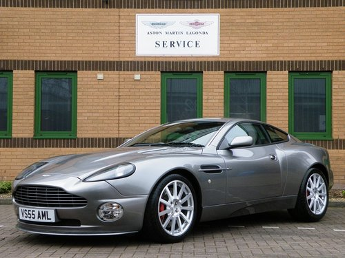 2005 Vanquish S. 28,000 Miles. Full Aston Martin Service History For Sale (picture 2 of 6)