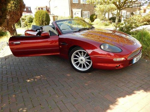 1996 Beautiful DB7 Volante auto  SOLD (picture 3 of 6)
