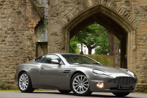 2003 Aston Martin Vanquish 6.0 V12 2+2 (Just 17373 miles) For Sale (picture 1 of 6)