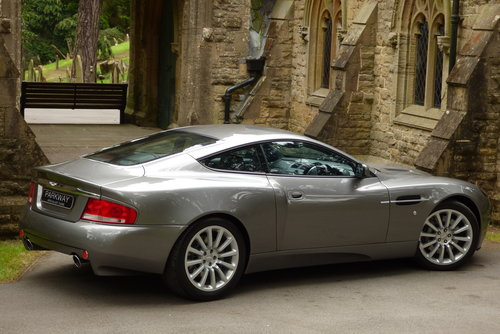 2003 Aston Martin Vanquish 6.0 V12 2+2 (Just 17373 miles) For Sale (picture 6 of 6)