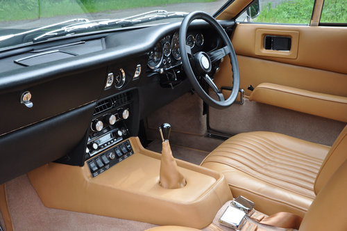 Fully Restored 1970 Aston Martin DBS-6 Manual (Vantage spec) For Sale (picture 5 of 6)