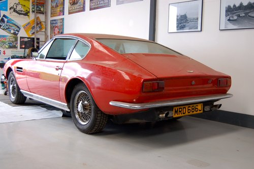 1970 Aston Martin DBS GARAGE  FIND For Sale (picture 2 of 6)
