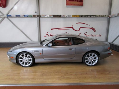 2002 Aston Martin DB7 Vantage V12 Manual Shift For Sale (picture 2 of 6)