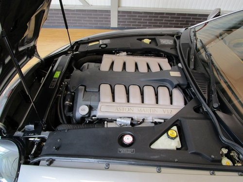 2002 Aston Martin DB7 Vantage V12 Manual Shift For Sale (picture 5 of 6)