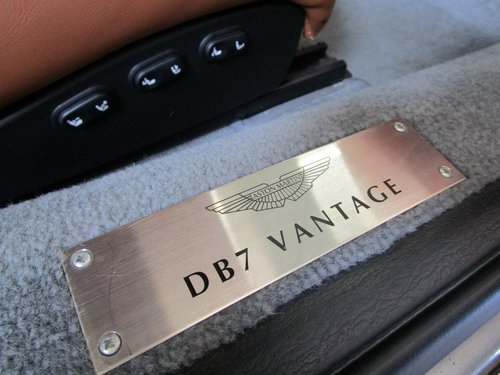 2002 Aston Martin DB7 Vantage V12 Manual Shift For Sale (picture 6 of 6)