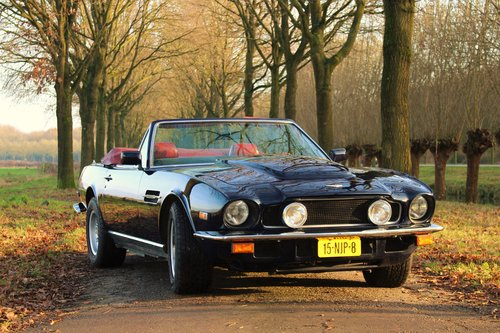 Aston Martin V8 Volante LHD 1983 For Sale (picture 2 of 6)