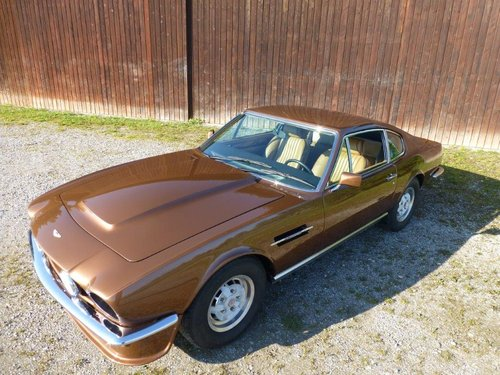1981 Restored Aston Martin V8 S4 manual (LHD) For Sale (picture 1 of 2)