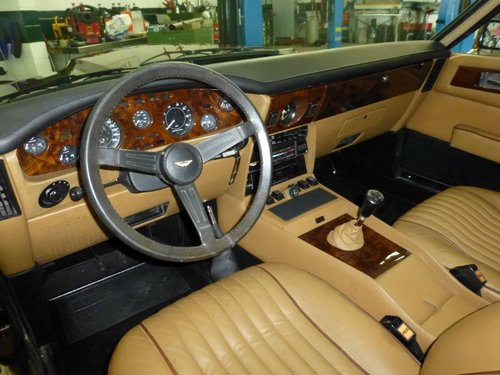 1981 Restored Aston Martin V8 S4 manual (LHD) For Sale (picture 2 of 2)