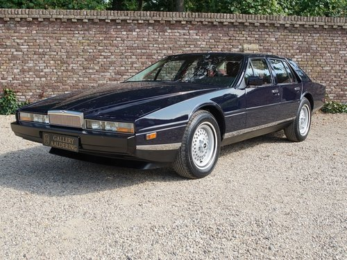 1985 Aston Martin Lagonda Tickford, Special order by Royal Sultan For Sale (picture 1 of 6)
